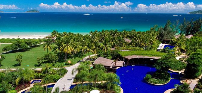 亚龙湾红树林度假酒店位于海南省三亚市亚龙湾国家旅游度假区,是由