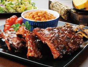 美式BBQ烤肋排