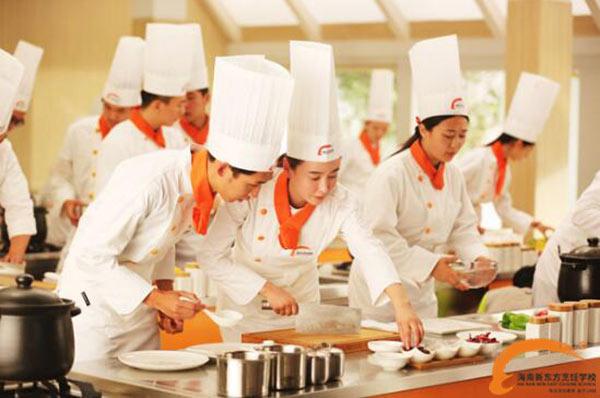 上海新东方烹饪学校学费是多少?地址在哪里?图片